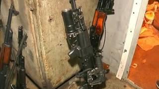 Разоблачение склада оружия в гараже на Салтовке