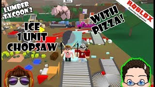 Roblox - A New Type of 1x1 Saw Mill w/ Pizza!!!!