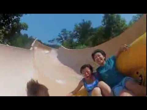 Dollywood Waterpark rides POV