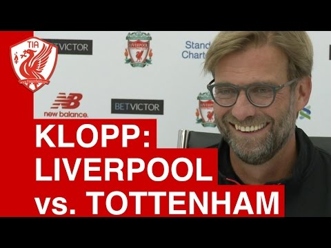 Liverpool vs. Tottenham (League Cup) - Jurgen Klopp's Pre Match Press Conference