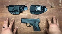 """Tulster"" vs ""We The People"" Springfield Armory XDs Holsters"