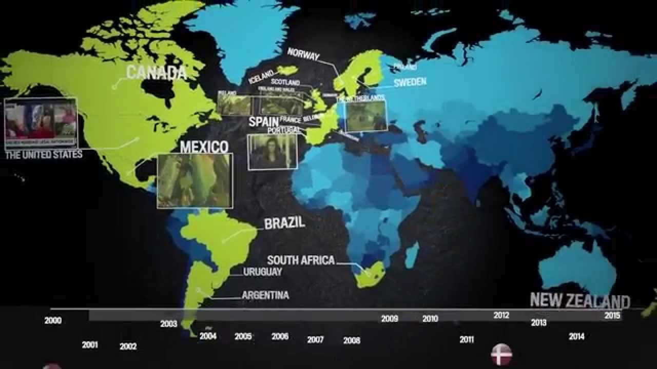Marriage Equality Around the World - YouTube