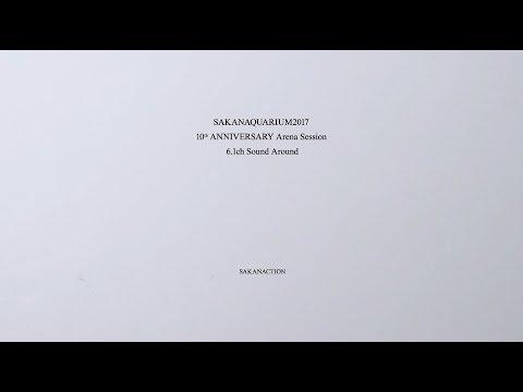 サカナクション / LIVE Blu-ray、DVD「SAKANAQUARIUM2017 10th ANNIVERSARY ~」完全生産限定プレミアムBLOCK movie
