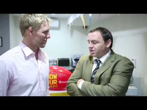 Lewis Moody talks to Former Lion Rob Henderson