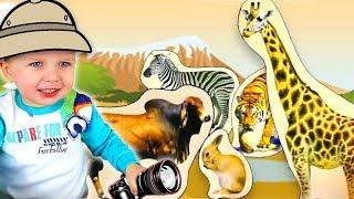 Видео для самых маленьких  Изучаем животных  Развивающее видео для малышей