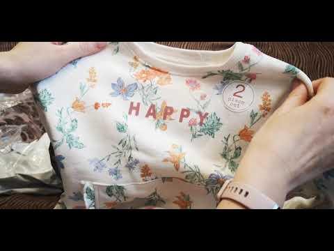 Распаковка одежды для девочки фирмы NEXT