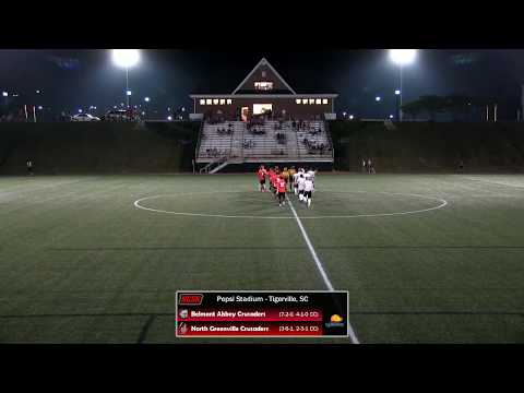 NGU Men\'s Soccer 2017 - North Greenville vs. Belmont Abbey