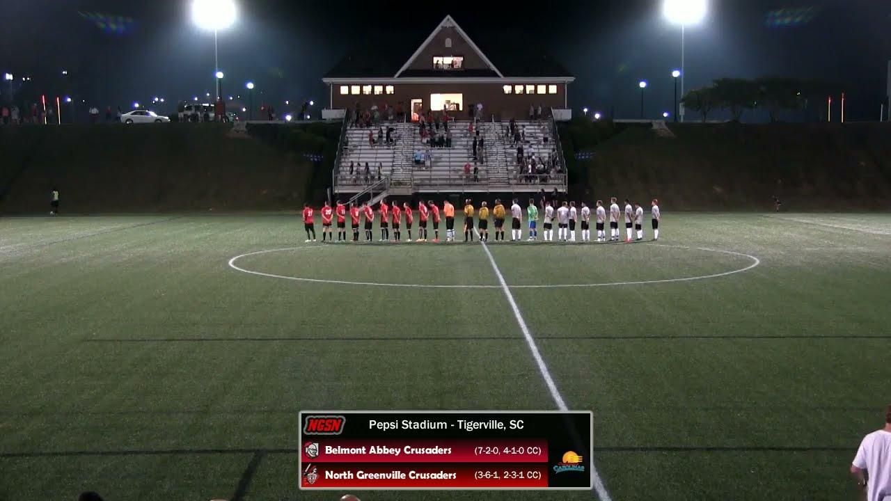 NGU Men's Soccer 2017 - North Greenville vs. Belmont Abbey