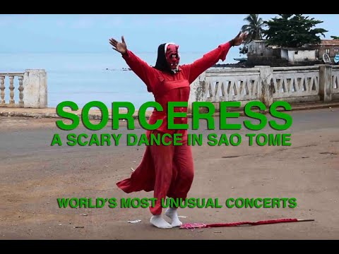 THE PLANTATION DANCE   SAO TOME, AFRICA (rare video)
