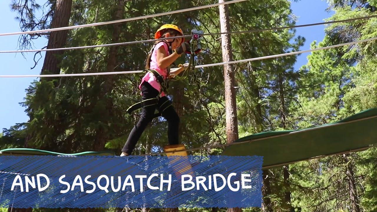 Sasquatch Hollow Kid's ZipLine Adventure
