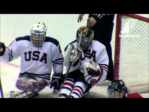 HIGHLIGHTS: CANADA'S SLEDGE HOCKEY TEAM WINS WORLDS AGAINST USA