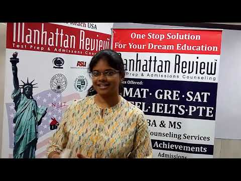 MS Admission Services - Manhattan Student Testimonial | Sahaja