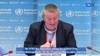 WHO suspends testing of Hydroxychloroquine drug in COVID-19 patients over safety concerns