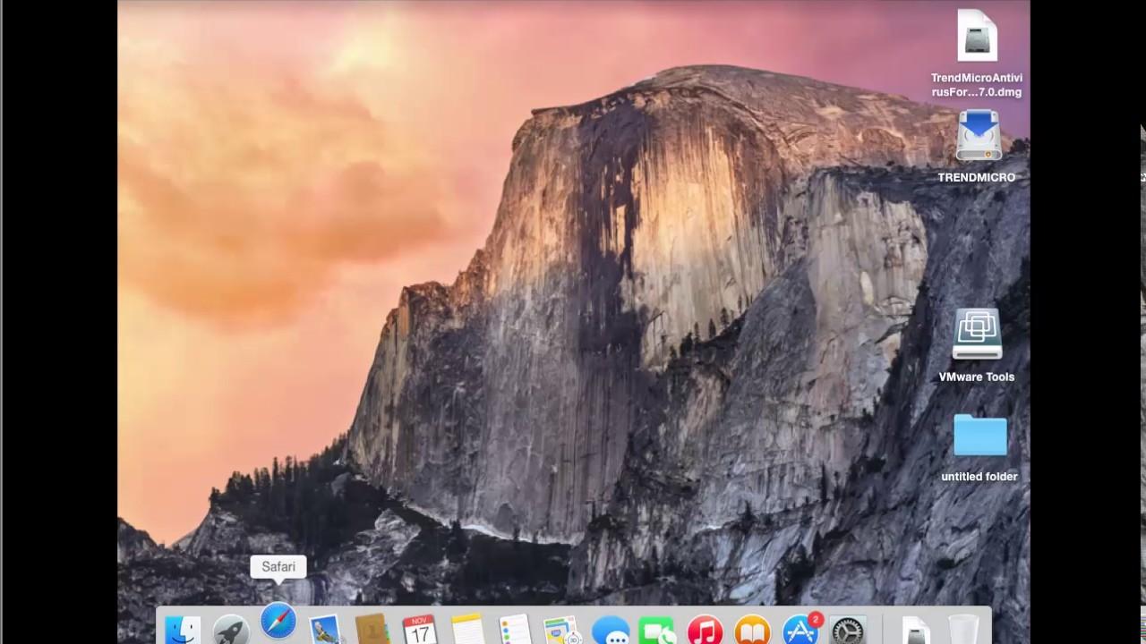 uninstall trend micro mac