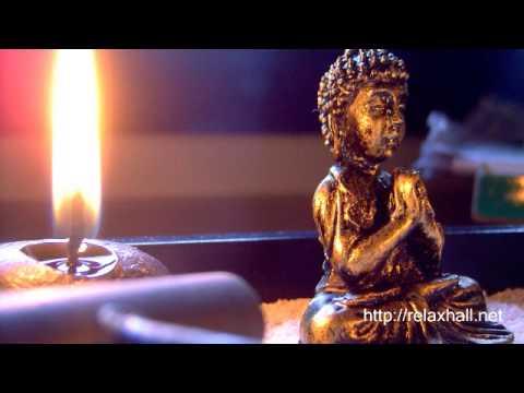 Uma Hora Meditando com Musica Oriental Instrumental Relaxante para Descansar, Repousar, Estudar