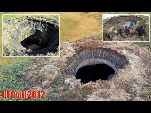 Huge new hole appears in Siberia and scientists don't want to reveal what's inside