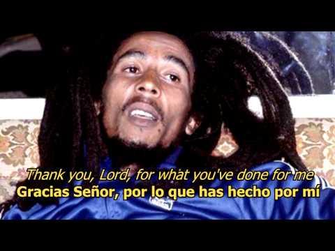 Thank you Lord - Bob Marley (LYRICS/LETRA) (Reggae)