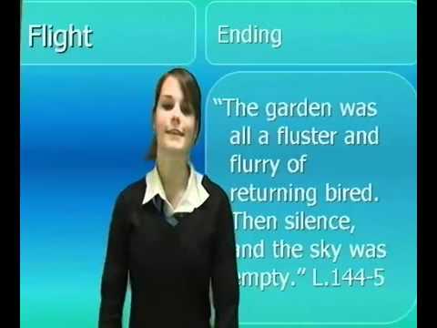 GCSE English  Flight Study Guide   YouTube