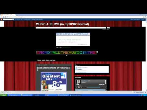 The Best Music For Download in Mp3PRO--format