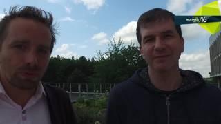 Konference Motivace 2016  moderátor pan Jakub Železný předává slovo Marku Tomanovi