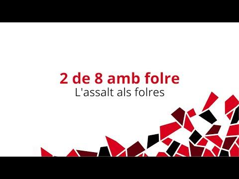 Castells inoblidables (V): 2 de 8 amb folre - L'assalt als folres