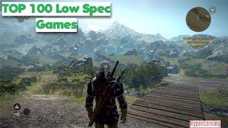 TOP 100 Games for Low SPEC PCs and Laptops (2GB RAM/ Intel HD Graphics / Vega 8 / Vega 11)