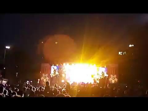 Концерт, приуроченный ко Дню Победы в Кишиневе и салют