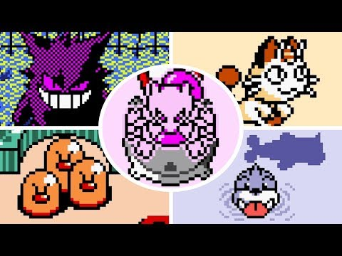 Pokémon Pinball - All Bosses
