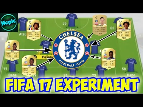 WHAT WOULD HAPPEN IF CHELSEA ONLY HAD THEIR LOAN PLAYERS? - FIFA 17 CAREER MODE EXPERIMENT