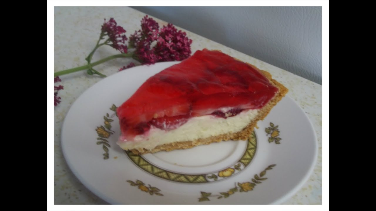 Pay De Queso Con Fresa Y Gelatina Cheesecake Con Fresa Y Gelatina Ideal Para Negocio Youtube