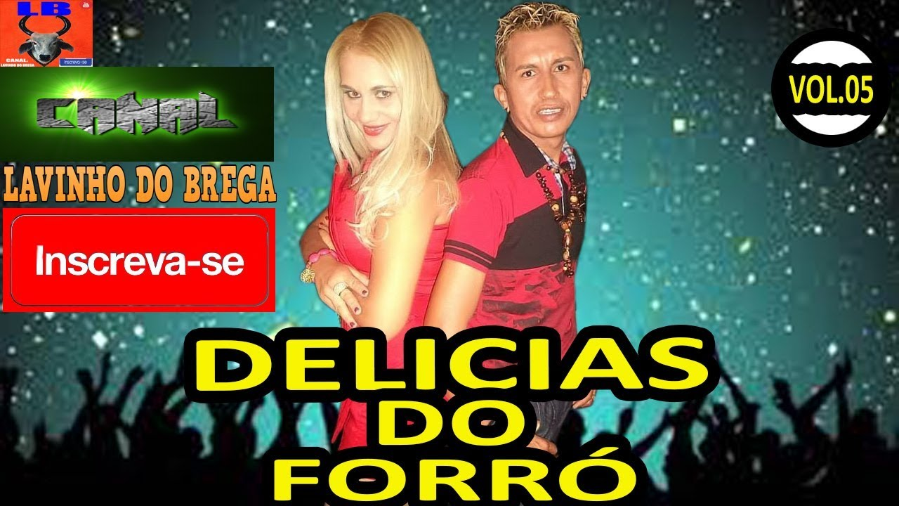 DELÍCIAS DO FORRÓ - VOL 05 E PODE BALANÇAR ! CD COMPLETO