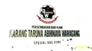 "Cuplikan Video Kreativitas Edisi Lebaran  Karang Taruna Abhinaya Waragang ""DUPAK MAGERSARI RW I"