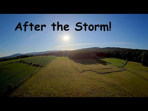 Фото Clear sky after the storm #fpv #drone