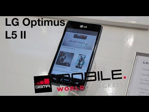MWC 2013 Probamos el LG Optimus L5 II