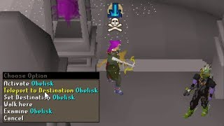 Waiting at 44 wilderness teleport spot for 10 hours