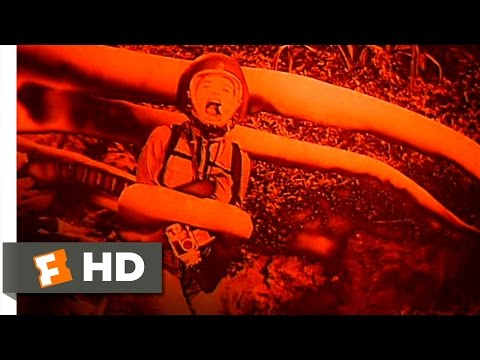 The Angry Red Planet (5/10) Movie CLIP - Hysterical Female vs. Carnivorous Plant (1959) HD