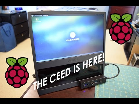 """Pi-Top CEED Unboxing and First Look """"$99 RPI3 Desktop"""" Indiegogo"""