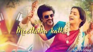 Aaha Kalyanam Lyrical Video Song WhatsApp Status From Petta Movie