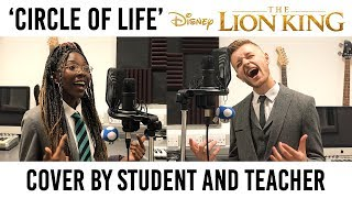 Circle Of Life - The Lion King // Cover by 14 year old student and teacher (Jordan Rabjohn Cover)