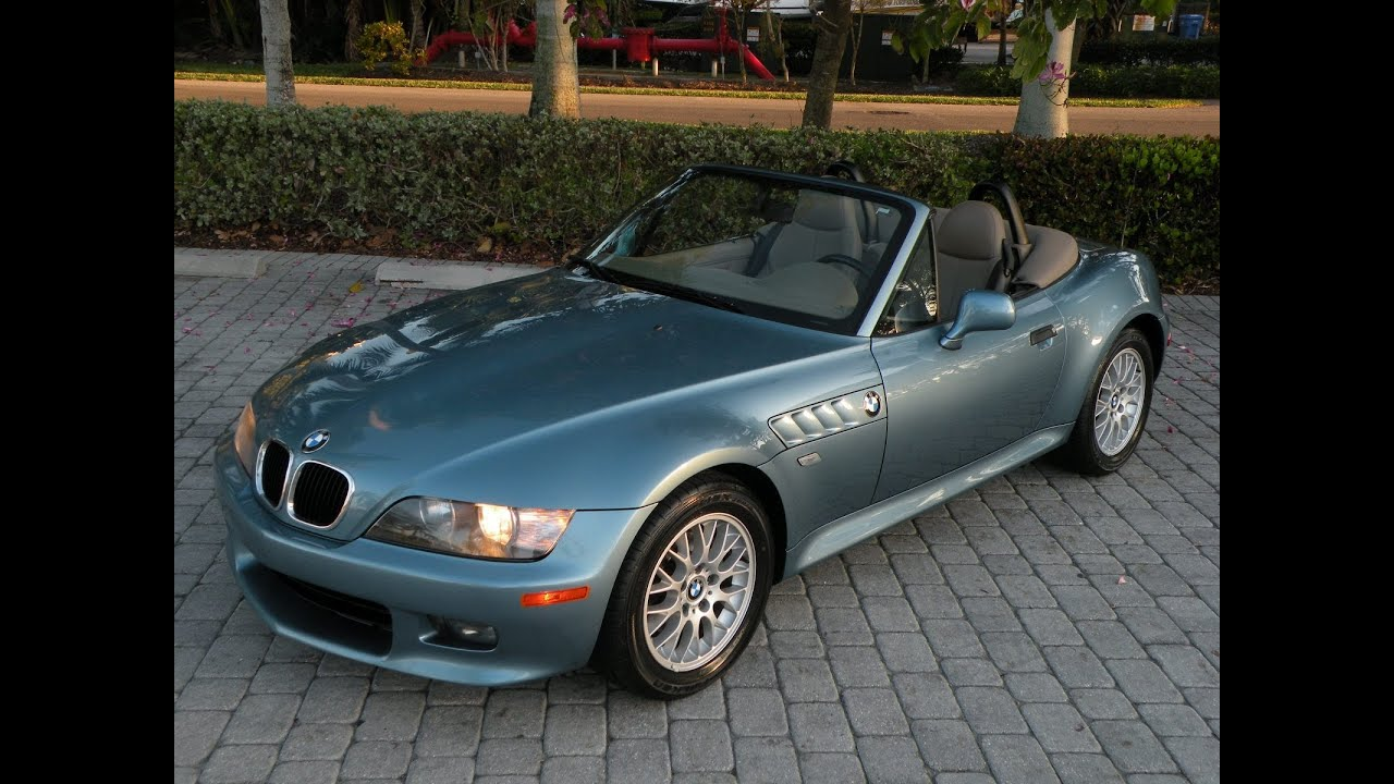 bmw z3 convertible roadster for sale auto haus of fort myers florida youtube. Black Bedroom Furniture Sets. Home Design Ideas