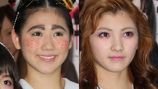 AKB48岡田奈々、人生初の金髪姿!西野未姫も太眉の衝撃姿に 舞台「マジすか学園」会見2 #AKB48 #Japanese Idol