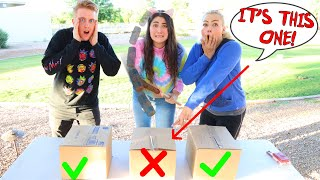 DON'T TRUST ME CHALLENGE  Don't choose the wrong box edition!