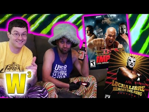 Zane & Drinko Play the TNA & AAA Games! [LET'S PLAY] | Wrestling With Wregret