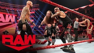 Viking Raiders vs. Street Profits vs. Gallows & Anderson - Raw Tag Title Match: Raw, Jan. 6, 2020