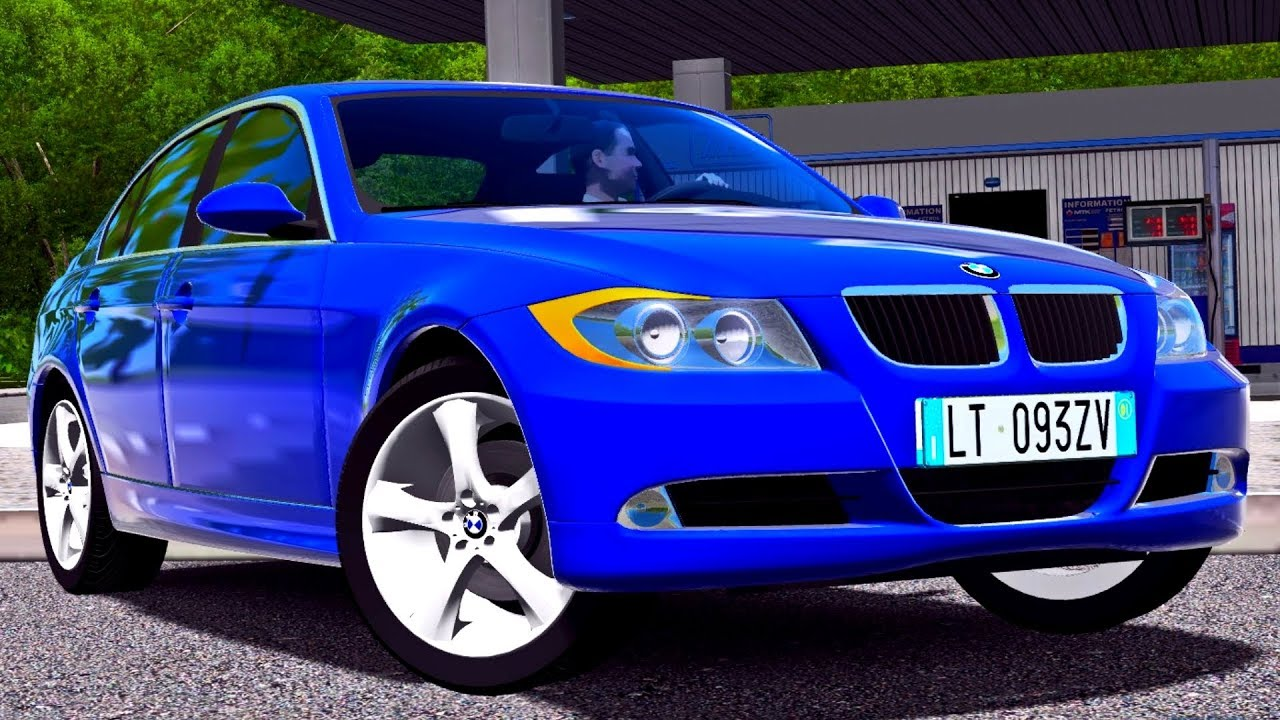 fc86617fe0c City Car Driving 1.5.4 BMW 3 E90 - G27 HD [1080p][60fps] - YouTube