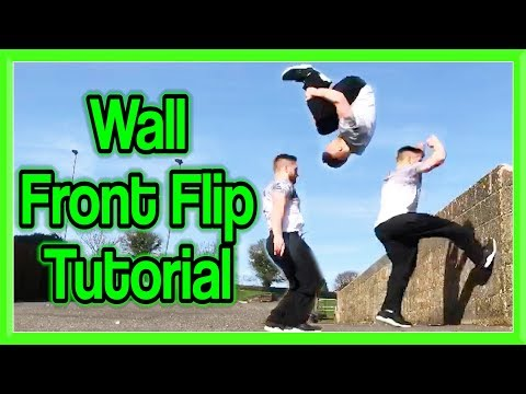 Wall Front Flip Tutorial (Inverted Wall Front) | Fraser Malik How to