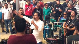 Woww!!😱DATO M.NASIR turun Bukit Bintang KL nyanyi lagu GERHANA!! Masih berbisa👍🏻