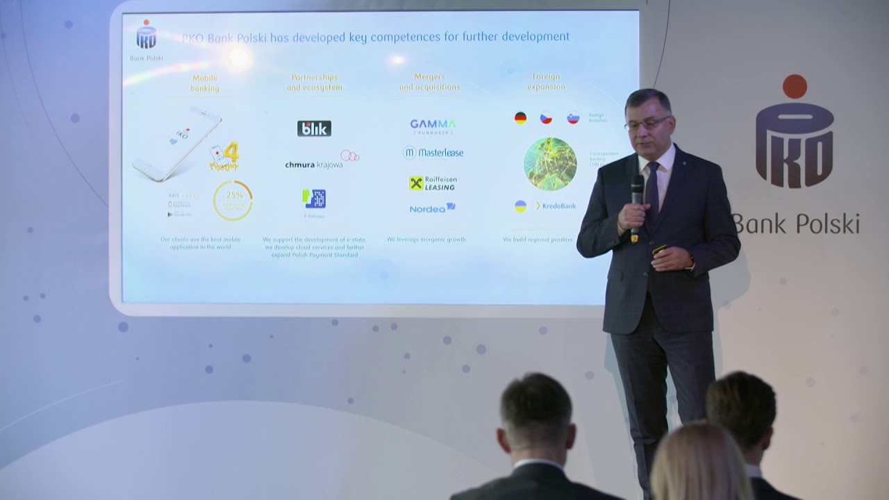 PKO Bank Polski Investor Day 2019 | London
