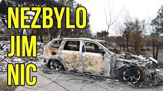 Skutečná situace po požárech v Malibu | Zničené domy | Ohořelá auta
