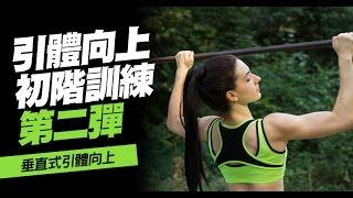 引體向上健身教學02:背部訓練-適合任何程度的初學者